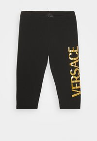 Versace - BOTTOM FELPA - Leggings - Trousers - nero - 0