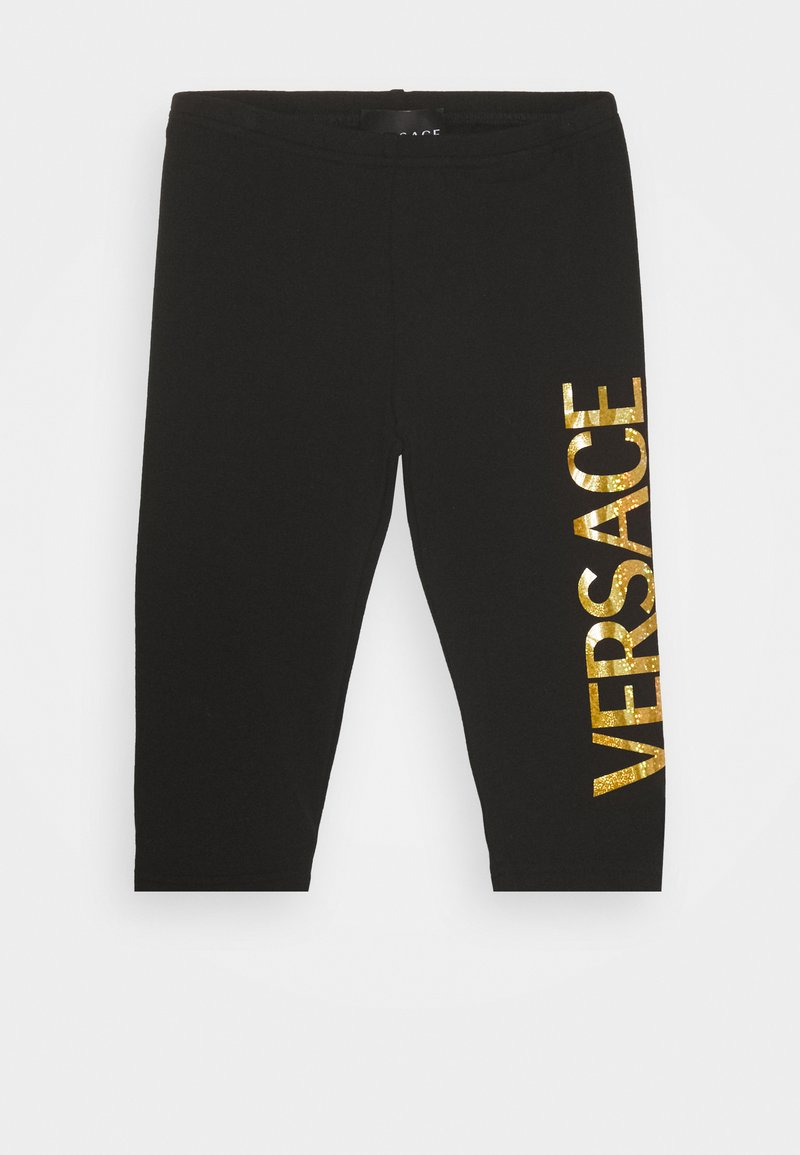 Versace - BOTTOM FELPA - Leggings - Trousers - nero