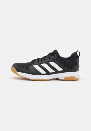 LIGRA 7 - Volleyballsko - core black/footwear white