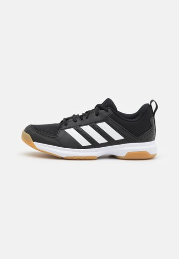 LIGRA 7 - Volleyball shoes - core black/footwear white