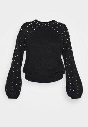 VIRASY PEARL - Pullover - black