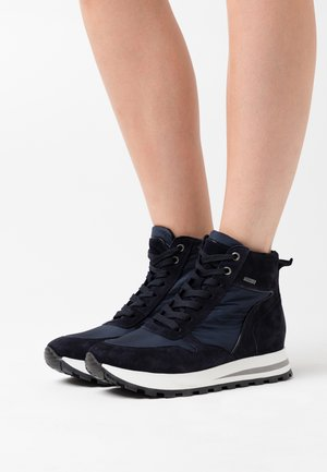 DAGIE - High-top trainers - notte gore/navy hydro