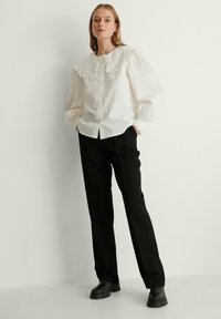 NA-KD - Button-down blouse - white - 1
