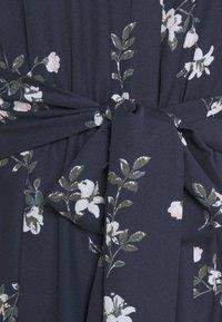Vero Moda - VMFALLIE LONG TIE DRESS - Blousejurk - navy blazer/newhallie - 6
