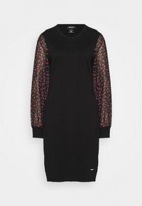 DKNY - Pouzdrové šaty - black/black/rudolph red/powder pink/multi - 5