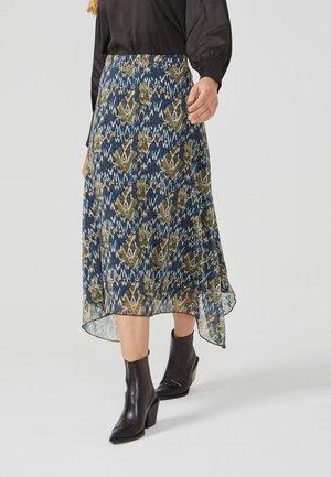 CAYA IKAT PES 527 - A-line skirt - taupe