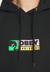 Obey Clothing - BETWEEN THE EYES - Huppari - black - 5