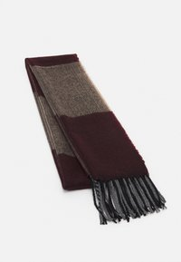 Burton Menswear London - SCARF - Scarf - burgundy - 0