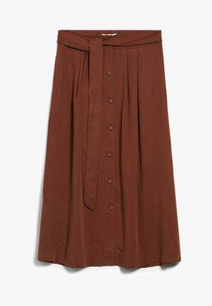 JULIANAA - A-line skirt - cacao
