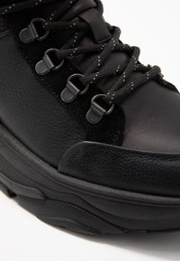 Selected Femme - SLFNICKOLINE LACEUP TRAINER   - Sneakers high - black - 2