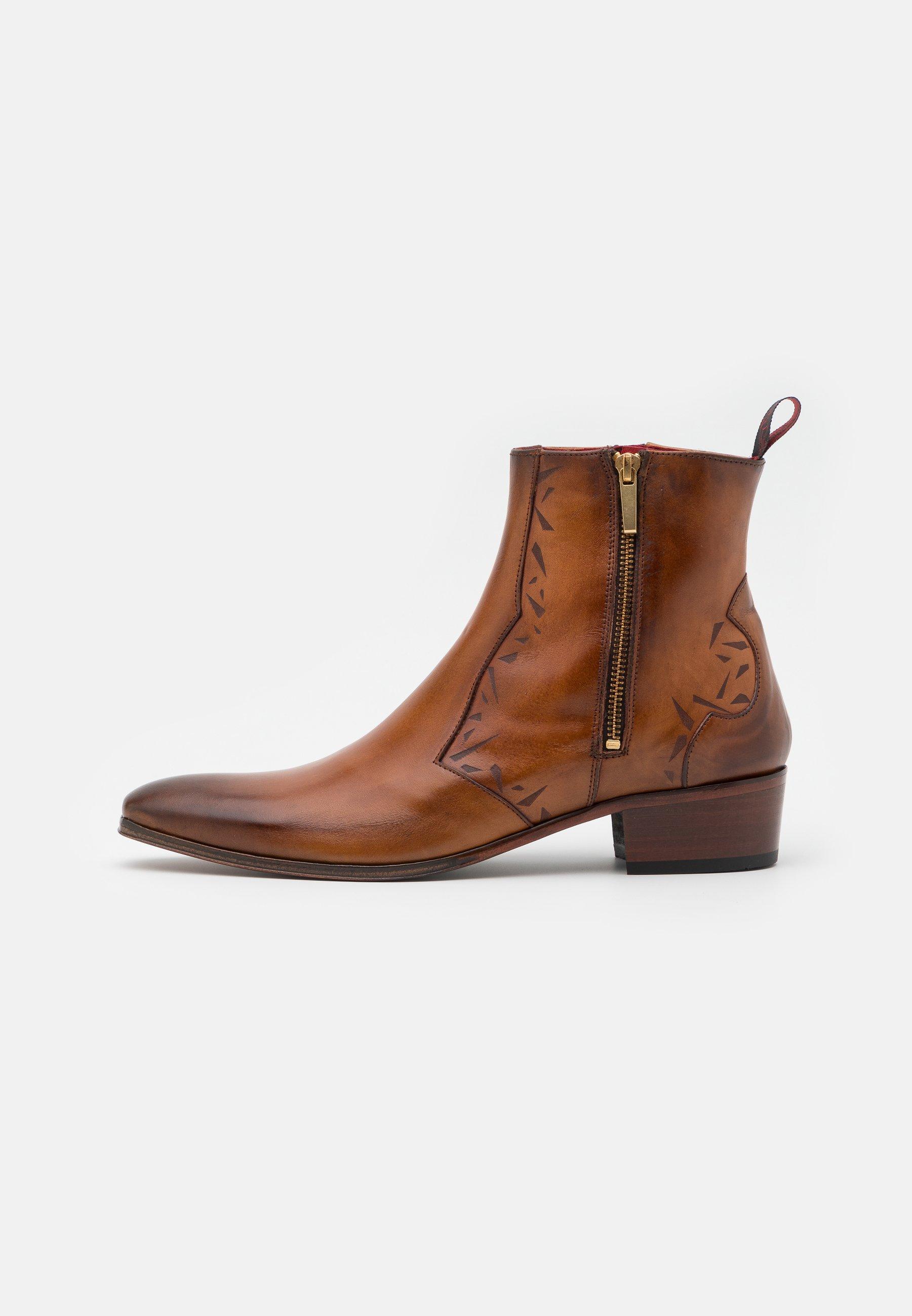 Men CARLITO DOUBLE ZIP BOOT - Cowboy/biker ankle boot