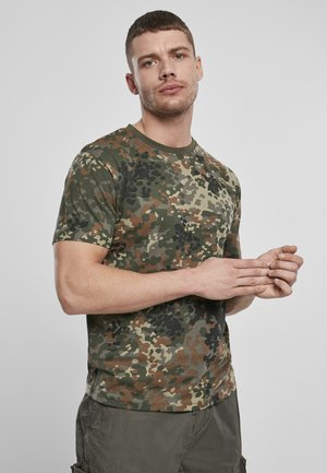 Basic T-shirt - flecktarn