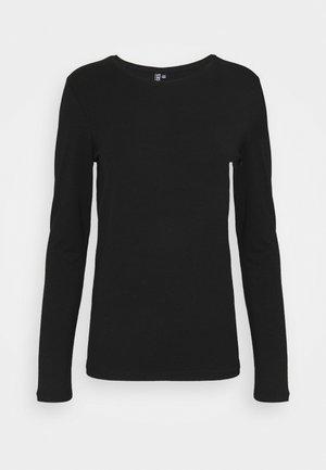 PCSIRENE TEE - Long sleeved top - black