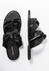 Anna Field - Pantofle - black - 3