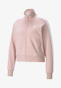 Puma - ICONIC T7 - Zip-up hoodie - peachskin - 3