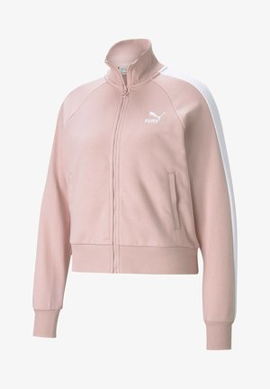 ICONIC T7 - Zip-up hoodie - peachskin