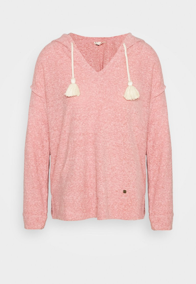 Roxy - LOVELY LIFE - Jersey con capucha - ash rose