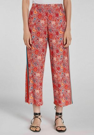 Trousers - red yellow