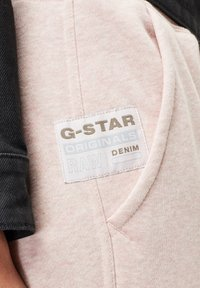 G-Star - PREMIUM CORE 3D TAPERED - Tracksuit bottoms - pyg htr - 3