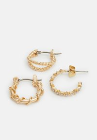Pieces - PCRIKKY EARRINGS 6 PACK - Earrings - gold-coloured - 2