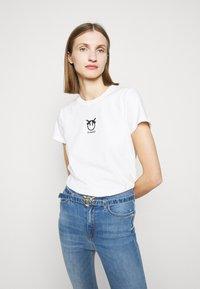 Pinko - BUSSOLANO  - T-shirt imprimé - white - 3