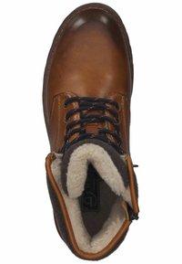 Bugatti - Winter boots - cognac - 3