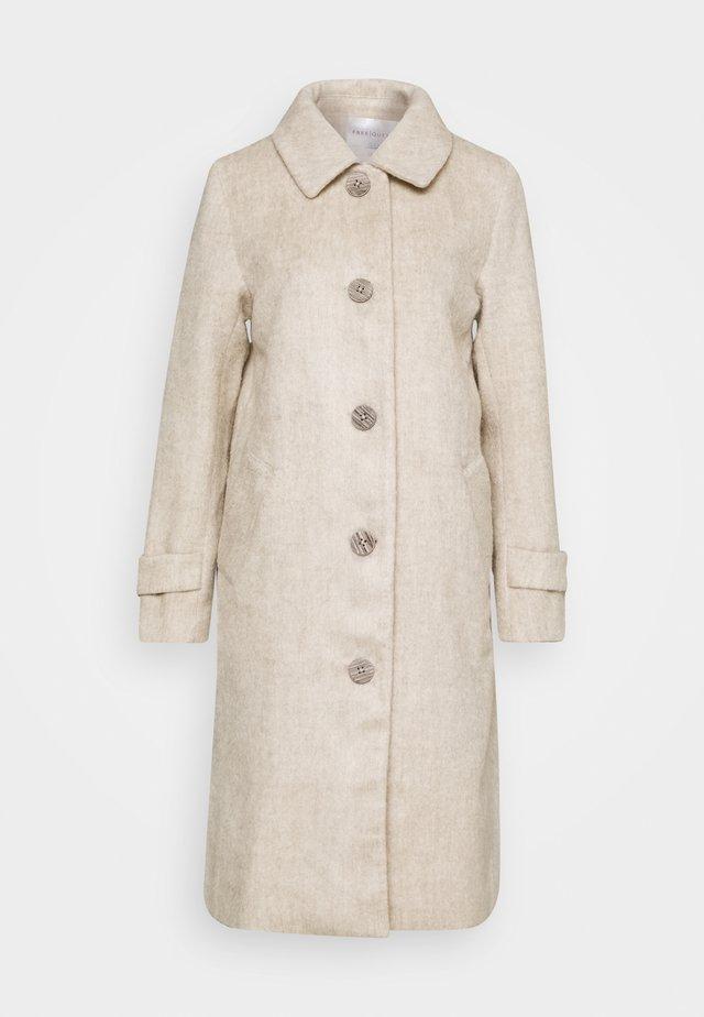 AMORA - Classic coat - whitecap/gray melange