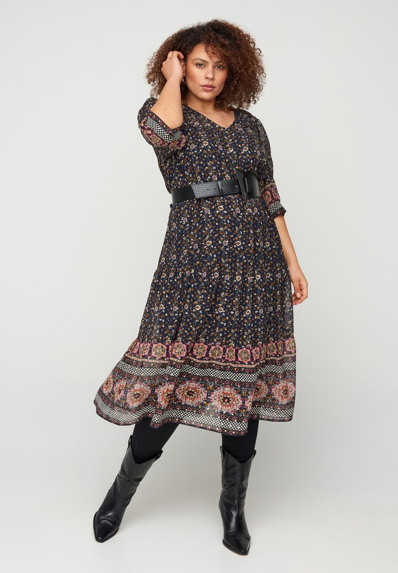 Zizzi - Day dress - blue