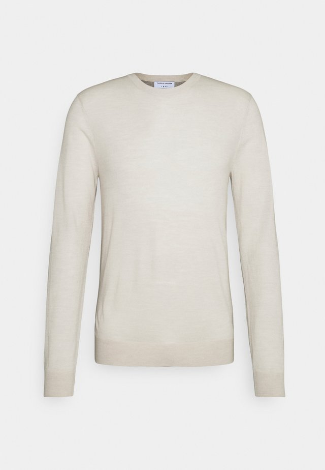 NICHOLS - Pullover - ivory sand