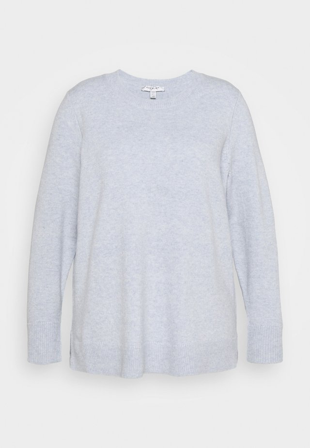IVETTE CREW NECK JUMPER - Neule - pale blue