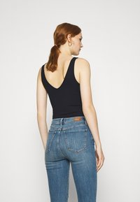 Abercrombie & Fitch - BARE SEAMLESS BODYSUIT - Top - black - 2