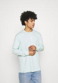 Zign - UNISEX - Långärmad tröja - turquoise - 0