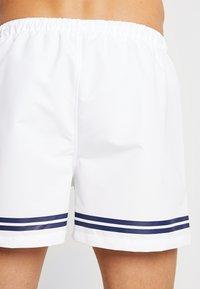 Ellesse - TORENTELLO - Shorts da mare - white - 1