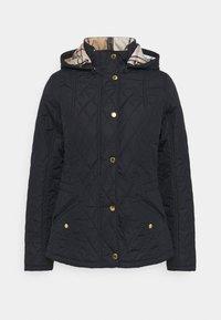 Barbour - MILLFIRE QUILT - Light jacket - navy/hessian - 0