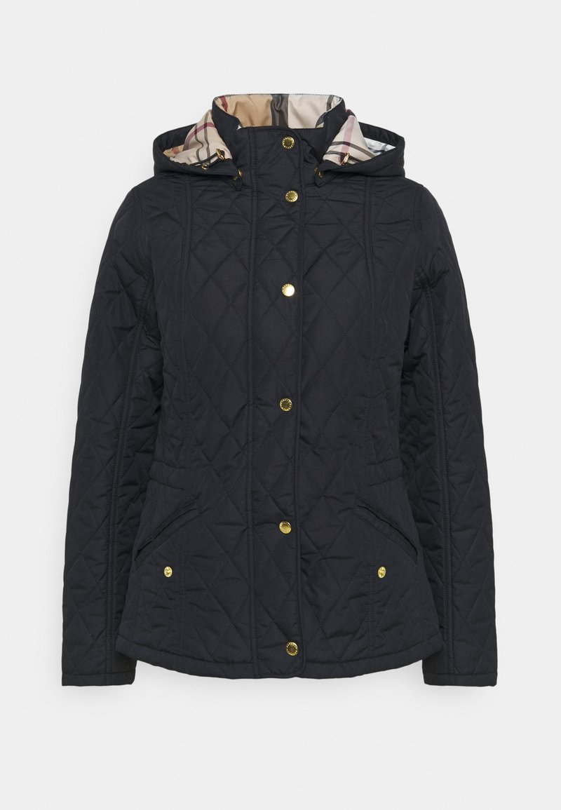 Barbour - MILLFIRE QUILT - Light jacket - navy/hessian