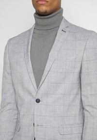 Limehaus - WINDOWPANE SUIT - Suit - grey - 6