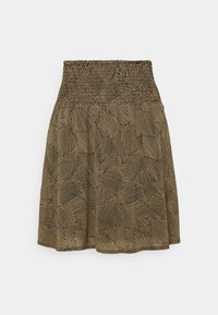 Moss Copenhagen - RIKKELIE SKIRT  - Mini skirt - brown - 0