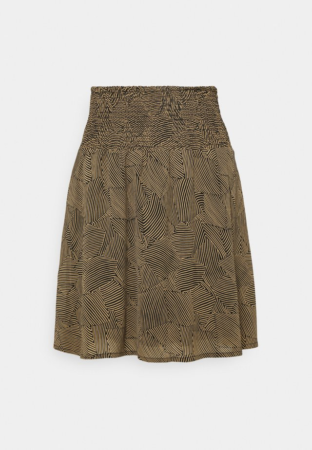 RIKKELIE SKIRT  - Mini skirt - brown