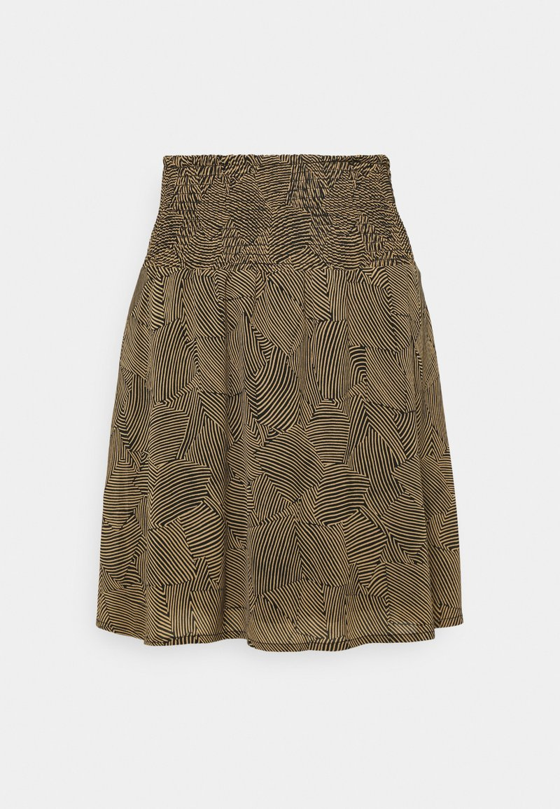 Moss Copenhagen - RIKKELIE SKIRT  - Mini skirt - brown