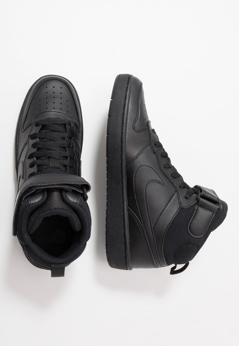 Nike Sportswear - COURT BOROUGH MID 2 UNISEX - Sneakersy wysokie - black