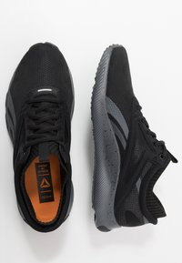 Reebok - HIIT TR - Sports shoes - black/true grey/pewter - 1