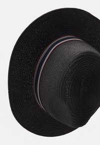 Selected Homme - SLHBAKER STRAWHAT - Hat - black - 3