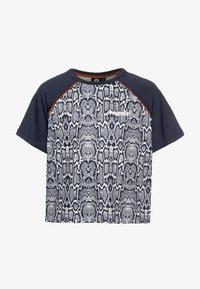 Hummel - Print T-shirt - blue nights - 0