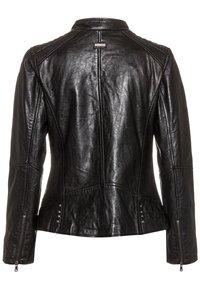 COCO - LOTTE - Leather jacket - schwarz - 5
