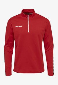 Hummel - HMLAUTHENTIC - Sweatshirt - true red - 0