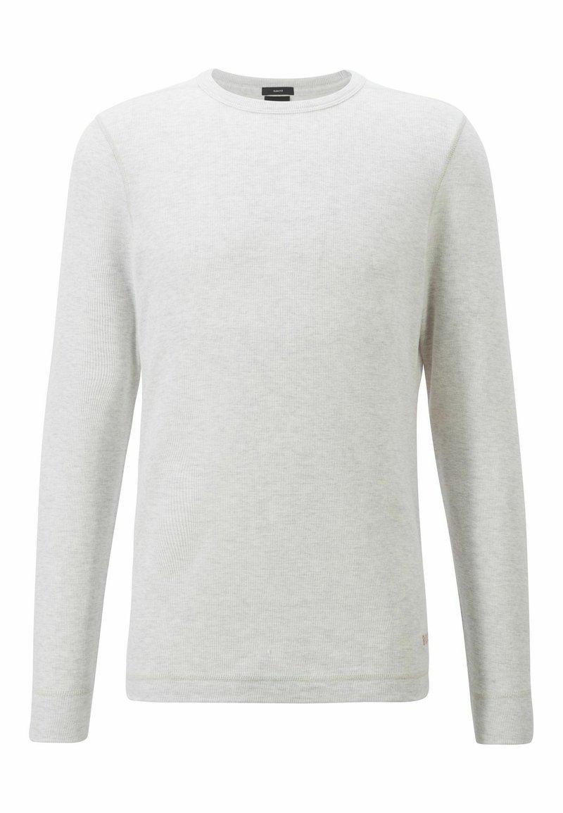 BOSS - TEMPFLASH - Long sleeved top - natural