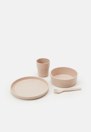 DISH SET UNISEX - Kinder Geschirrset - powder pink