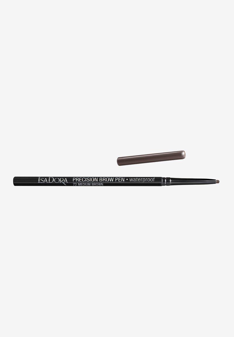 IsaDora - PRECISION BROW PEN WATERPROOF - Eyebrow pencil - medium brown
