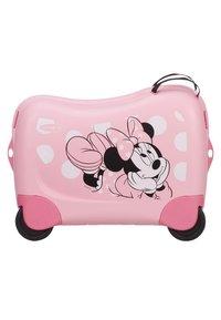 Samsonite - ZUM DRAUFSITZEN - Wheeled suitcase - pink - 1