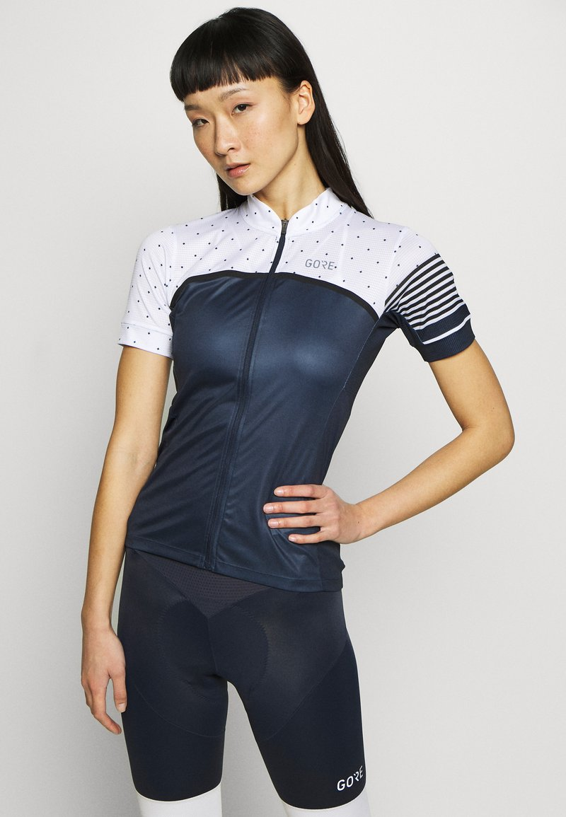 Gore Wear - TRIKOT - T-Shirt print - orbit blue/white